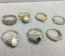 サファイア オパール 指輪