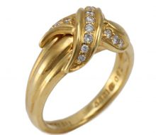TIFFANY & CO.Signature ring