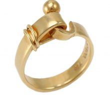 TIFFANY & CO.Hook and eye ring