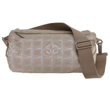 CHANEL New Travel Line tubular shoulder bag