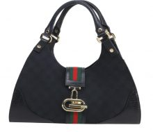 GUCCI GG canvas semi-shoulder bag