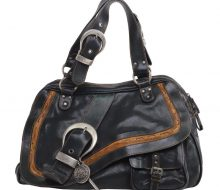 DIOR leather Boston bag