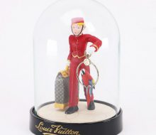 Louis Vuitton Novelty Page Boy Glass Dome