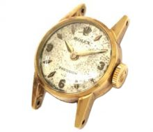 Rolex Precision k18 Manual winding ladies face only