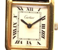 Cartier Must Tank Manual Wound Ladies Watch