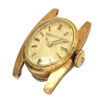 Jaeger-LeCoultre Manual winding K18 Oval type ladies watch