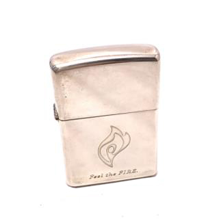 Zippo fire oil lighter with 1999 limited case