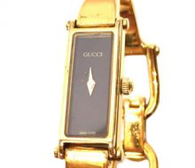 Gucci 1500L Quartz Ladies Watch Black Dial
