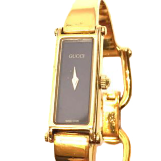 Gucci 1500L Quartz Ladies Watch Black Dial