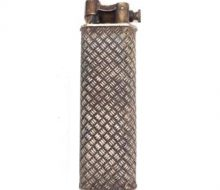 Dunhill gas lighter silver