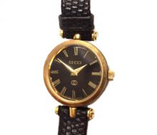Gucci Quartz Ladies Watch Black Dial