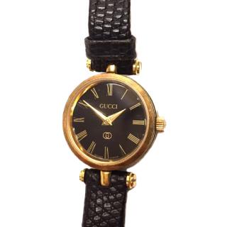 Gucci Quartz Ladies Watch Black Dial