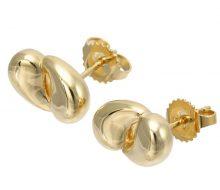 Tiffany K18 W teardrop earrings