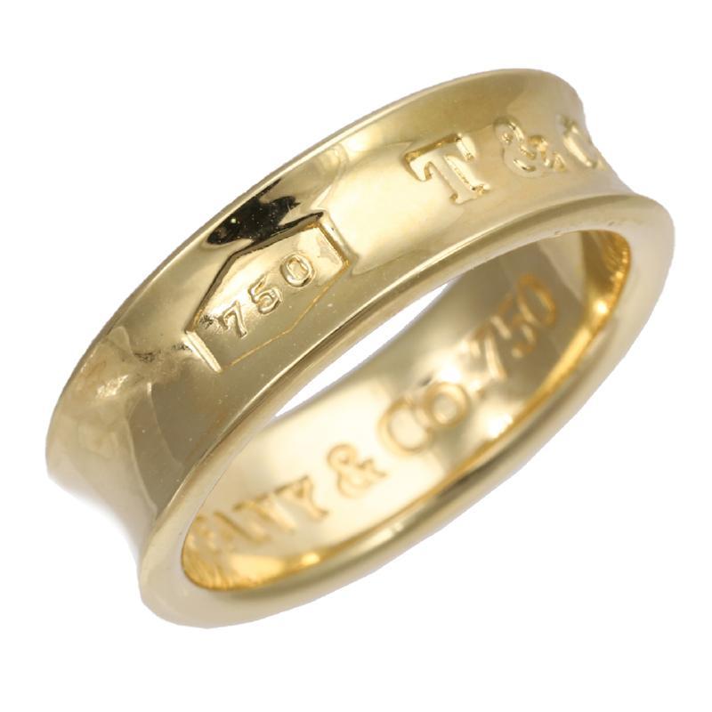 Tiffany K18 ring