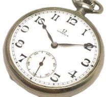 OMEGA hand-wound pocket watch
