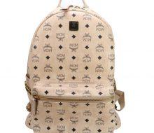 MCM side studs backpack