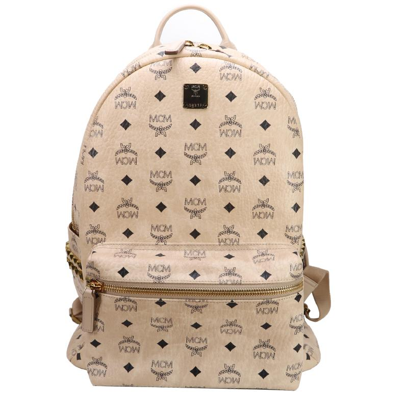 MCM side studs backpack