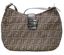 Fendi Zucca One Shoulder Bag