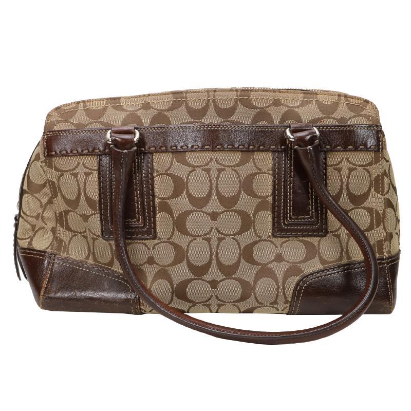 Coach Signature Semi Shoulder Bag
