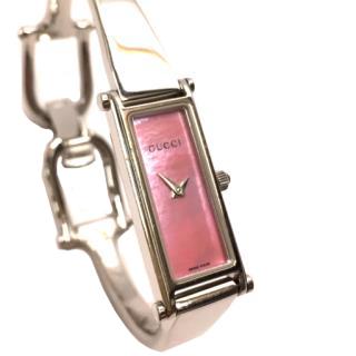 Gucci 1500L Quartz Ladies Watch Pink Shell Dial