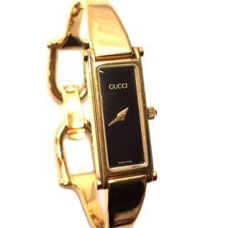 Gucci 1500L Quartz Ladies Black Dial Wrist Watch