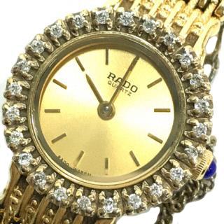 Rado Rhinestone Quartz Ladies Watch