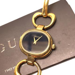Gucci 1600 Quartz Ladies Black Dial Wrist Watch