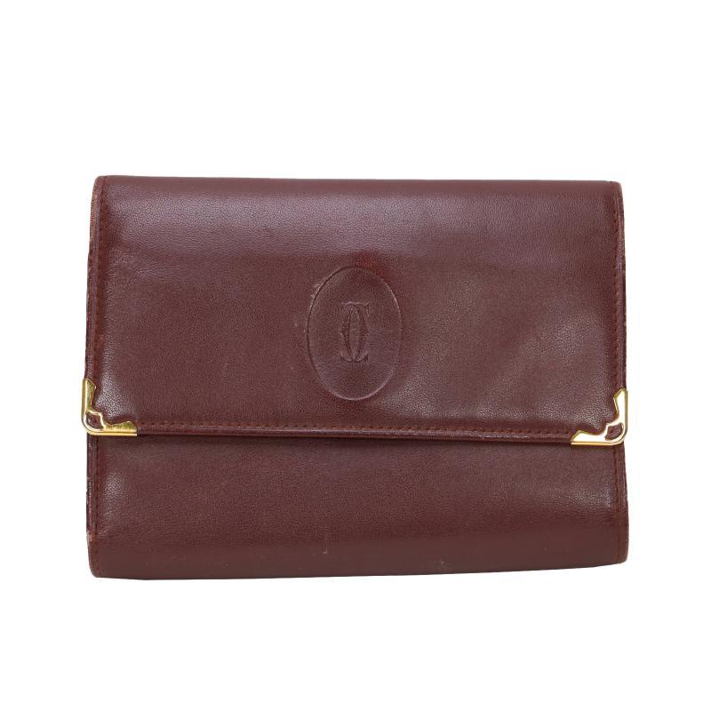 Cartier Mast 3-fold purse