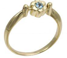 Flower ring K18