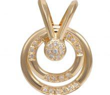 Design top with K18 diamond