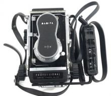 Mamiya twin-lens reflex camera