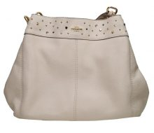 Coach Stardust Studded Leather Semi Shoulder