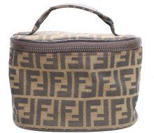 Fendi Zucca vanity bag