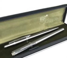 Montblanc ballpoint pen fountain pen set