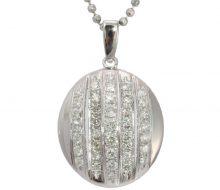 Diamond pendant PT850 / PT900