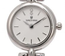 Waltham Ladies K18WG Quartz Watch