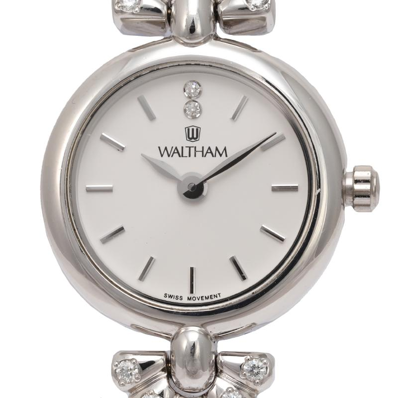 Waltham Ladies K18WG Quartz Watch