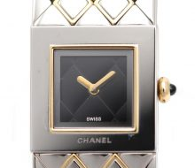 Chanel Matrasse Ladies Quartz Watch