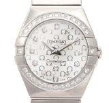 Omega Constellation Diamond Bezel Ladies