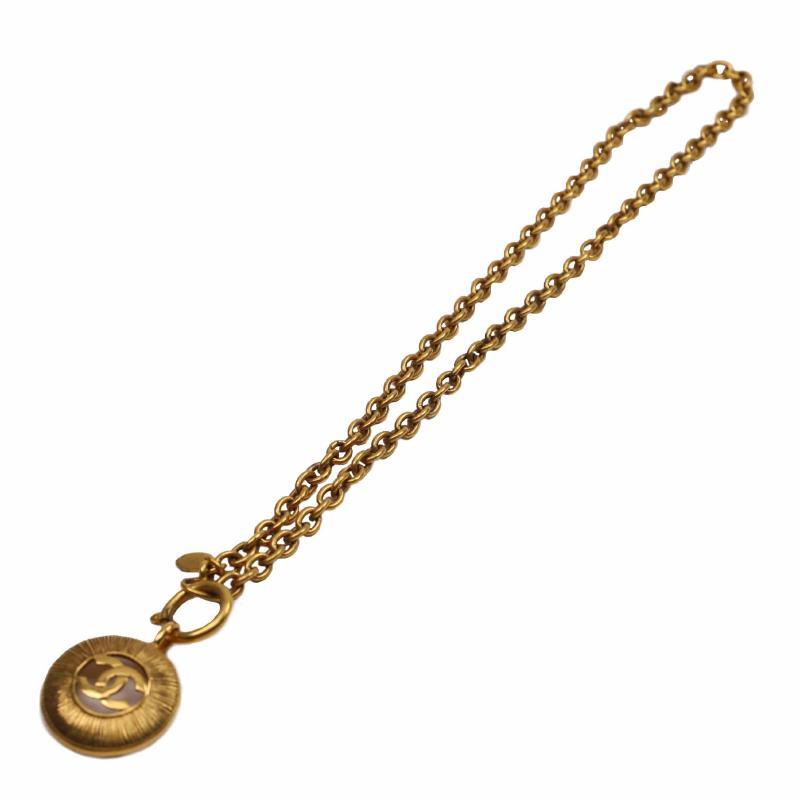 Chanel Coco Button Necklace