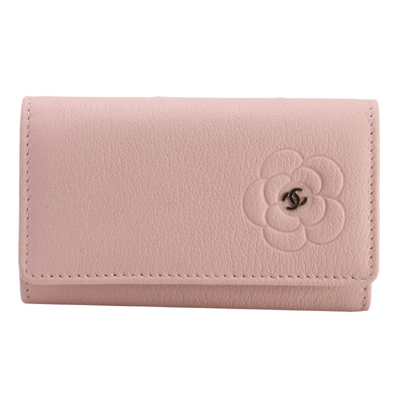 Chanel Camellia key cases
