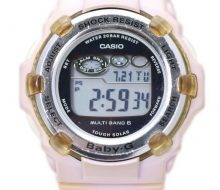 Casio G-SHOCK BABY-G solar watch