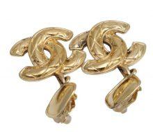 Chanel Coco Mark Swing Earrings