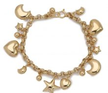 Charm bracelet K18