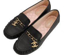 Chanel Coco Mark Chain Loafers