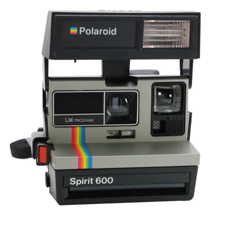 Polaroid strobe built-in Polaroid camera