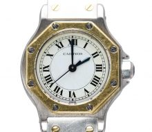 Cartier Santos Octagon Ladies Self-winding