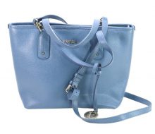 Furla leather 2WAY mini tote bag