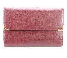 Cartier mast tri-fold purse