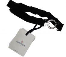 Moncler rubber belt